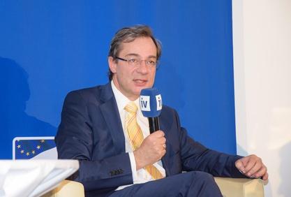 Dr. Axel Greiner, Präsident der Industriellenvereinigung OÖ